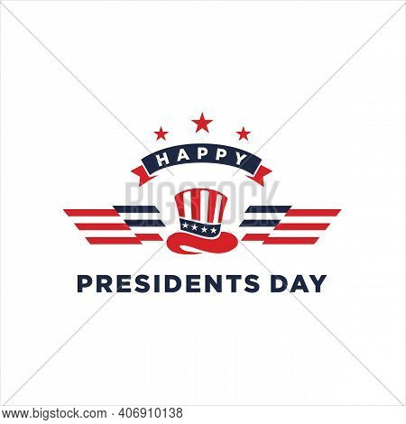 Presidents Day. Vector Typography, Text Or Logo Design. Usable For Sale Banners, United States Const