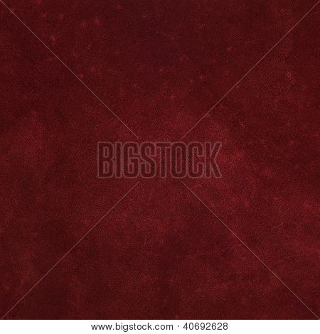 Red Treated Leather
