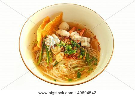 Tom Yum Seafood Noodle
