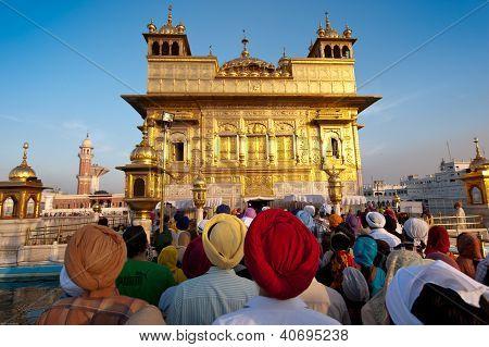 Golden Tempel-Eingang