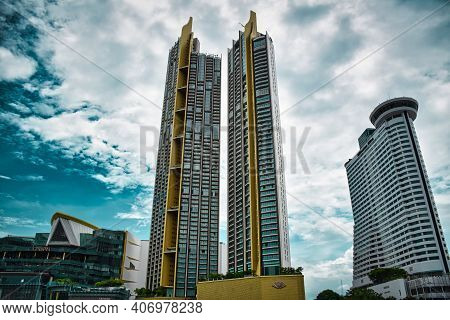 Bangkok, Thailand 08.20.2019 Iconsiam, Stylized As Iconsiam, And Ics Is A Mixed-use Development On T