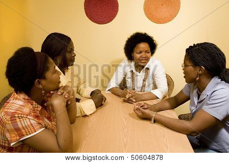 Discussion among women