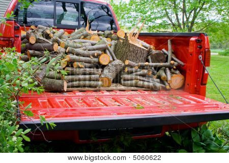 Truckload Of Wood