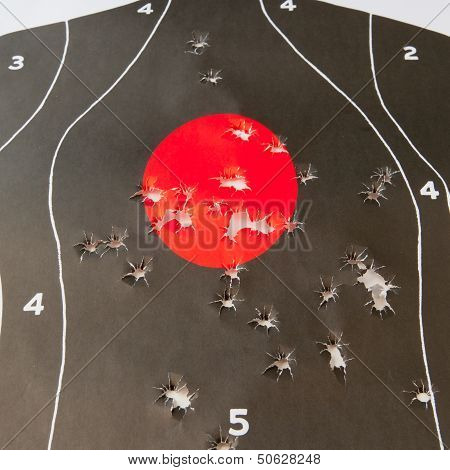 Bullet Holes In The Target