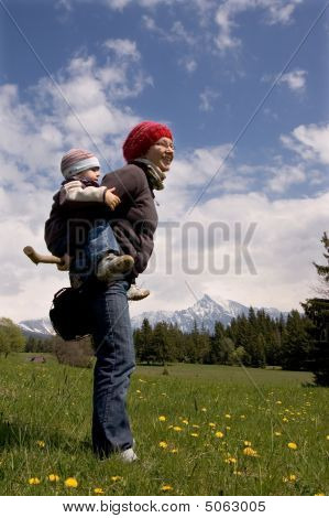 Family On Hike