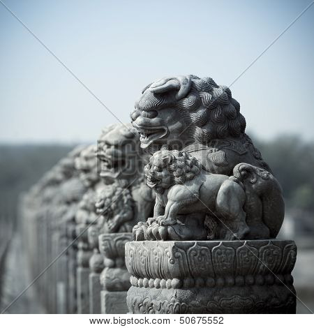 Ancient Stone Lion