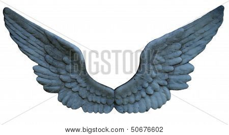 Stone Angel Wing Cluster