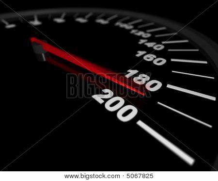 Excesso de velocidade ao limite