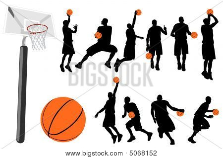 Basketball Vector Set