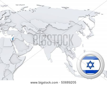 Israel On Map Of Asia