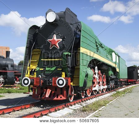 Soviet Long-haul Passenger Locomotive 50-ies