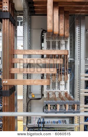 Copper Electrical Panel