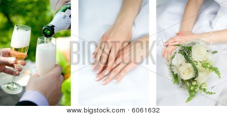 Hands On The Wedding Dress
