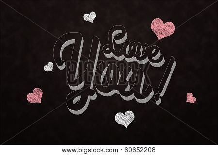 Chalkboard Love You