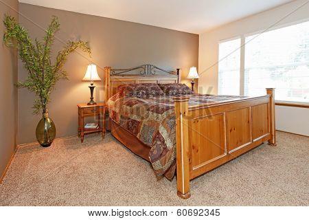 Cozy Tropical Bedroom