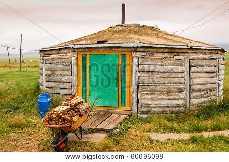 Wooden Mongolian Ger