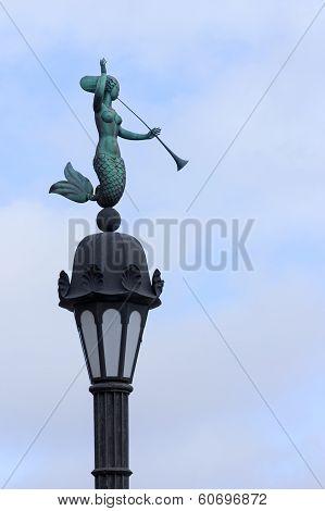 Water Nymph Street-lamp