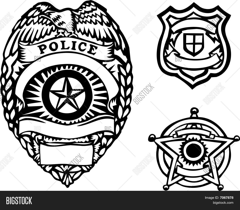 badges vector photo free trial bigstock rh bigstockphoto com vector police badge free police badge vector art free