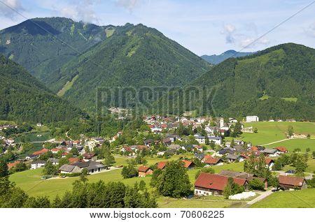 Enns Valley in Upper Austria