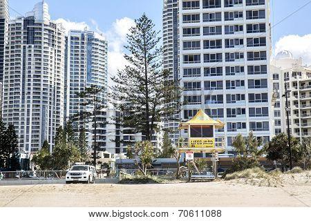 Gold Coast Beach and Cityscape