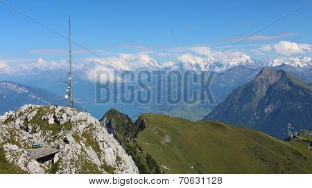 Panorama From The Stockhorn