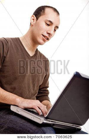 Working With A Laptop