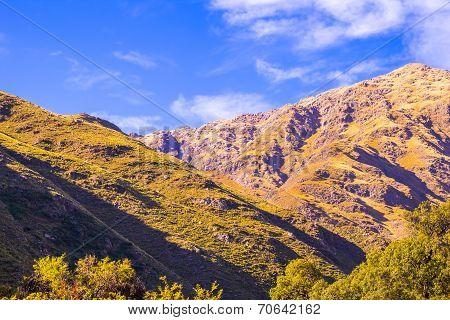 Beautiful Valley At Dawn