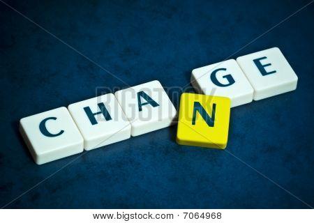 Ändern Sie Buchstaben