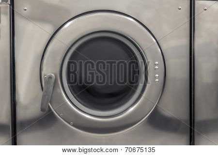 Washing Machine At Laundry