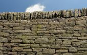 Dry stone wall in the Peak District National Park poster