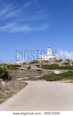 Lighthouse at the Capo Testa