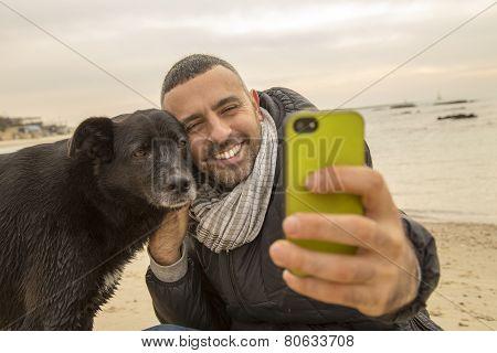 Best Friends Taking A Selfie Image For Social Media