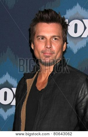 LOS ANGELES - JAN 17:  Len WIseman at the FOX TCA Winter 2015 at a The Langham Huntington Hotel on January 17, 2015 in Pasadena, CA