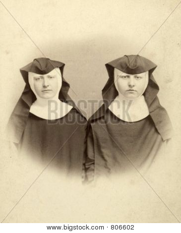 Vintage Women Nuns