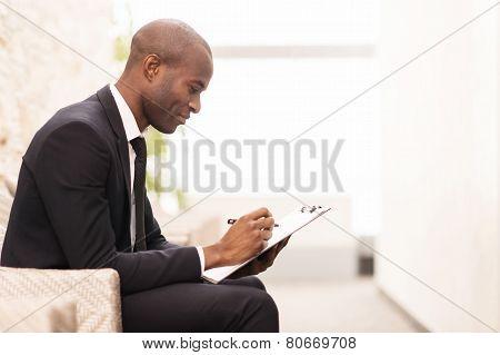 Making Notes.