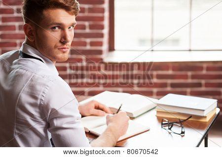 Confident Author.