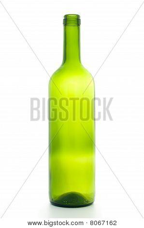 Open Empty Wine Bottle