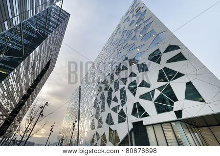 Modern Buildings Architecture