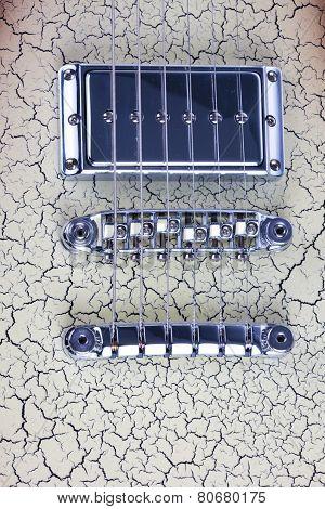 Bridge On An Electric Guitar