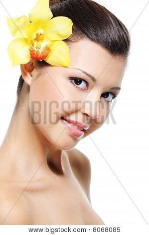 Wellness Of Asian Female Face
