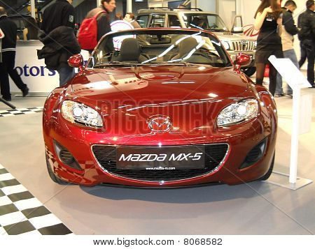 Mazda MX-5 car on Belgrade car show