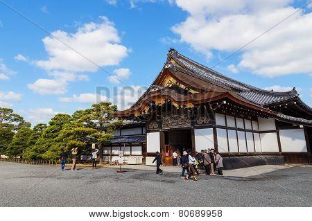 Ninomaru Palace at Nijo Castle in Kyoto Japan