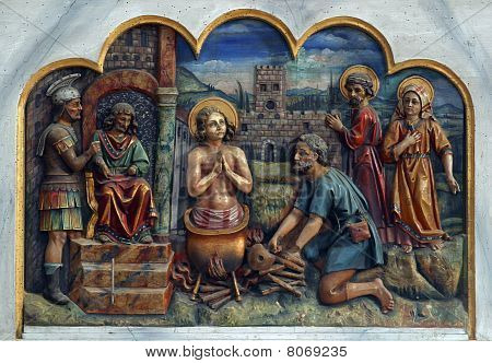 Saint Vitus, patron saint of actors, comedians, dancers, and epileptics poster