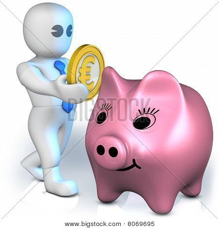 Euro Piggy Bank