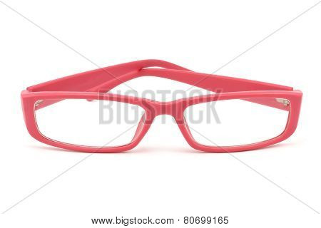 Women's Bright Pink Glasses