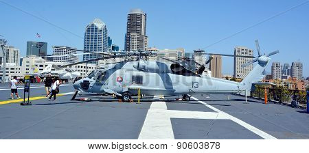 The Sikorsky H-60 Seahawk