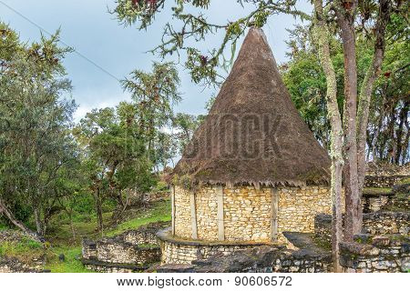 Ancient House In Kuelap, Peru
