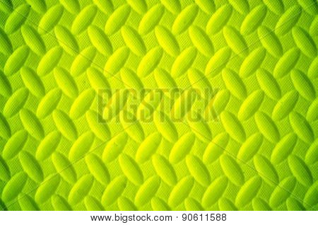 Yellow Background Made Of Sport Tatami