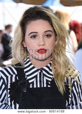 LOS ANGELES - APR 12:  Bea Miller arrives to the MTV Movie Awards 2015  on April 12, 2015 in Hollywood, CA