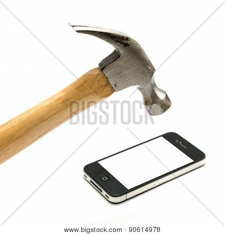 Hammer With Smart Phone